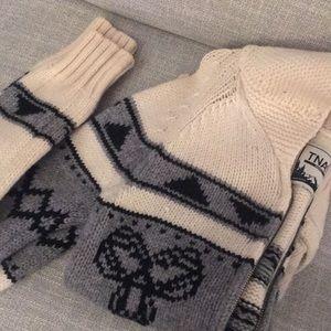 TNA Wool Sweater / Aritzia Sea-to-Sky